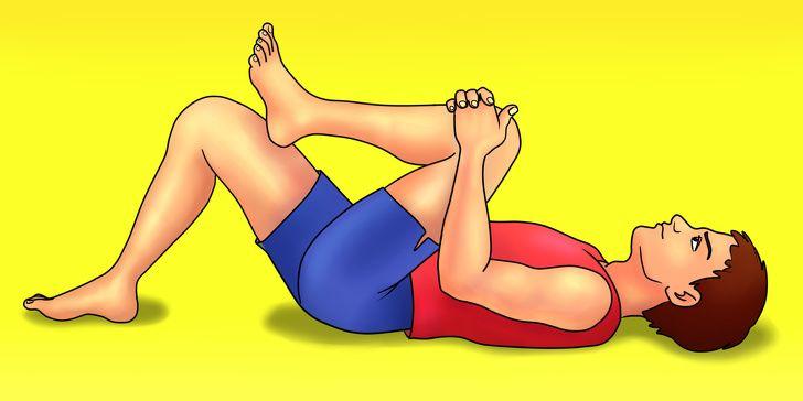 7 pratimai nugaros skausmams palengvinti per 10 minučių